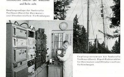 "5. August 1950 – ""Funkdienste der Deutschen Post"""