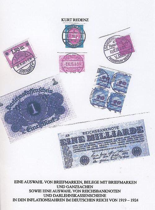 Philatelistische Belege der Inflation 1919 bis 1923