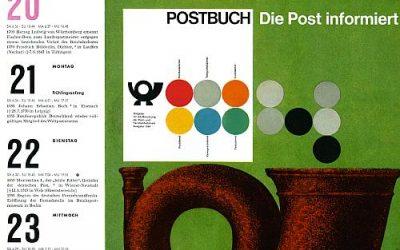 """23. März 1966 – """"Postbuch – Die Post informiert"""""""