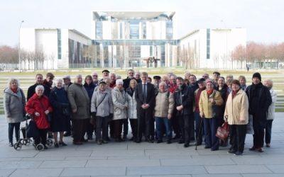Fahrt mit dem Bundespresseamt zu politischen, kulturellen und architektonischen Höhepunkten Berlins