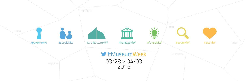 MuseumWeek Hashtags