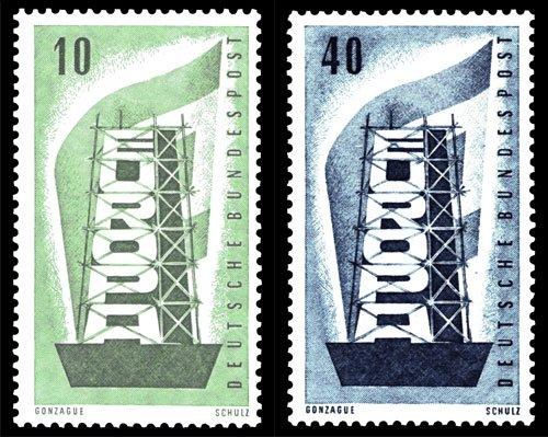 Vor 60 Jahren: Die erste gemeinsame Europa-Marke mehrerer Länder wird verausgabt