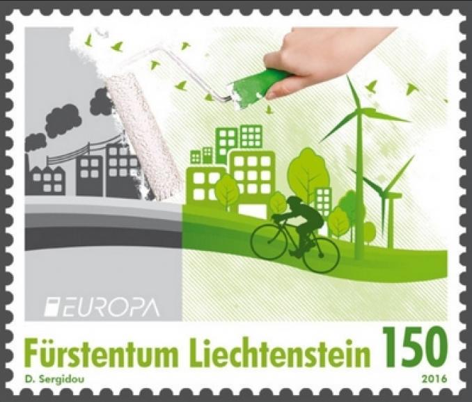 Europa-Marke 2016, Liechtenstein