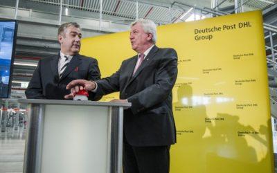Paketzentrum im Superlativ. Das Paketzentrum in Obertshausen ist seit 3 Monaten in Betrieb