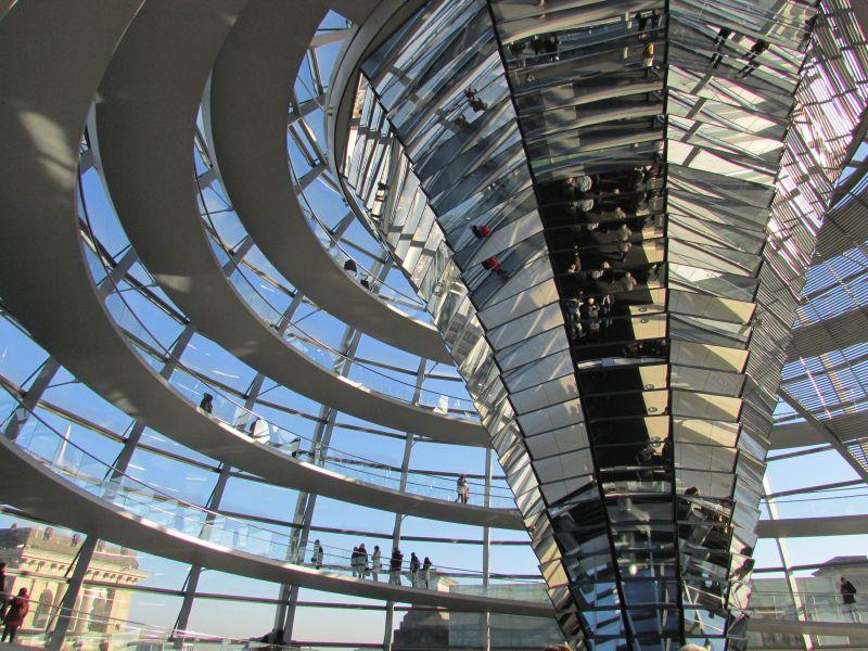 Exkursion zum Reichstagsgebäude Berlin