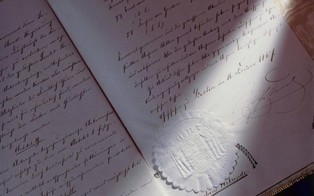 Vor 150 Jahren:  Preußen erhält die Postrechte