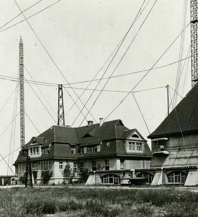 Senderhaus 1 der Großfunkstelle Königs Wusterhausen, 1921