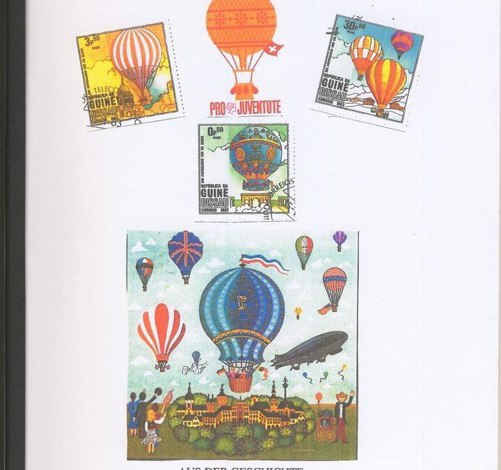 Philatelistische Belege aus der Geschichte der Ballonpostflüge