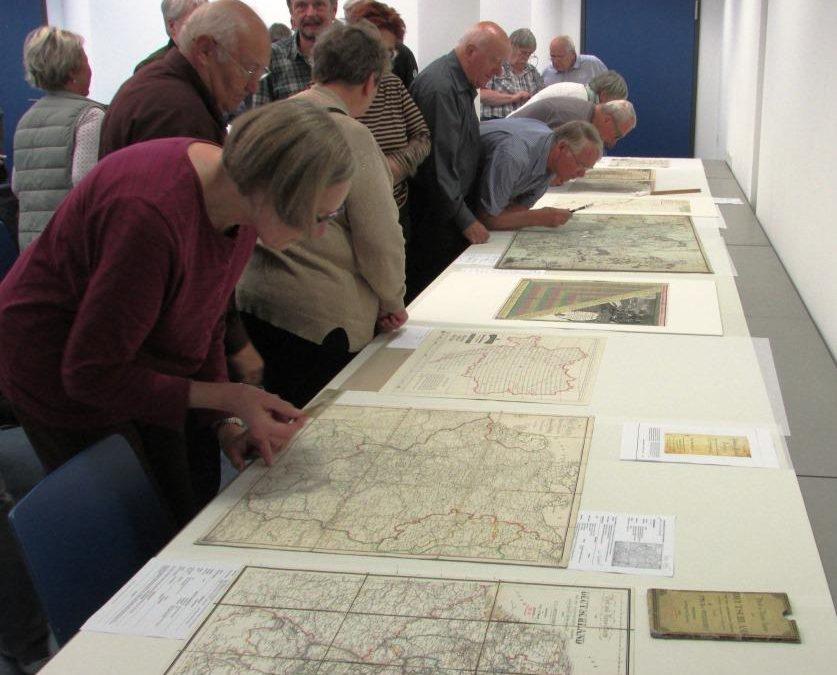 385 Jahre Postkartographie –  Verwaltungsgrundlage, Reisehilfsmittel, Kommunikationsbeschleuniger