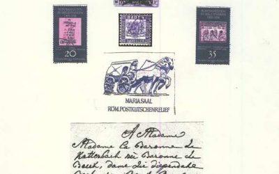 Briefe und Briefmarken erzählen Geschichte(n) – aus der Vergangenheit und von der Gegenwart