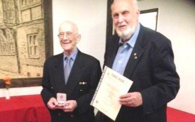 Weitere Auszeichnungen für Harald Krieg
