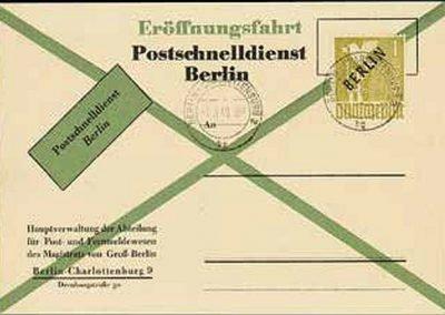 PostschnelldienstWestberlin1949