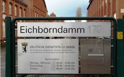 Exkursion Zur Deutschen Dienststelle Fur Die Benachrichtigung Der Nachsten Angehorigen Von Gefallenen Ehemaligen Wehrmacht