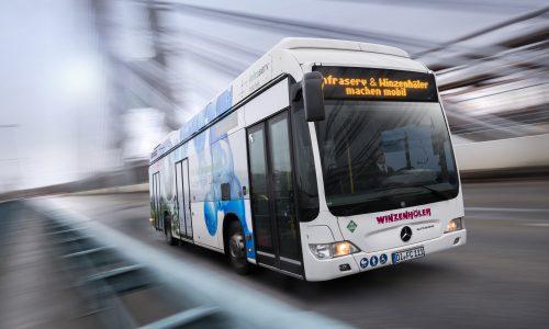 Freitags ins Depot: Fahrten im Brennstoffzellenbus