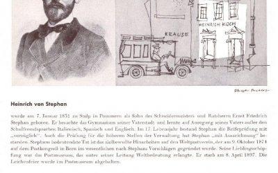 Heinrich von Stephan zum 190. Geburtstag