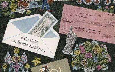 Zeichnen und gestalten für die Deutsche Reichs- und Bundespost