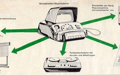 Vor 60 Jahren: Eine SMART HOME-Fantasie in der Zeitschrift hobby