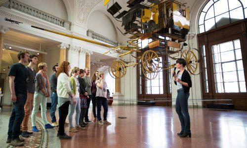 Die Highlights des Museums. Schätze der Kommunikation entdecken